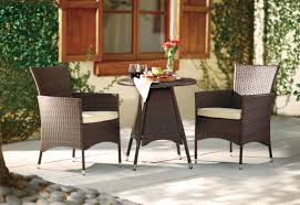 mercury row betria 3 piece bistro set with cushions u0026 reviews