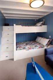 Stairs For Bunk Bed Pretty Bunk Beds With Stairs In Contemporary Other Metro With Bunk