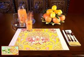 13 ways to learn how to make placemats allfreesewing