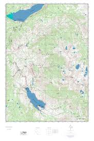 Wisconsin Topographic Map by Mytopo Florence Lake California Usgs Quad Topo Map