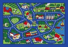 Cars Area Rug 3x5 Area Rug Play Road Driving Time Map Cars City