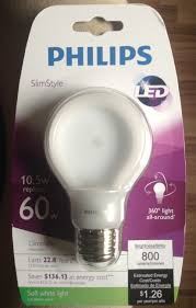 Home Led Light Bulbs by Philips Led Down To 1 97 Some Places Cree Led Down To 6 97 At