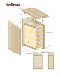 plans for a bug house house plans