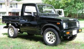 suzuki pickup truck for 7 000 this is a pickup you could pocket
