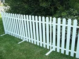 temporary garden fencing portable picket fencing temporary garden fencing dogs