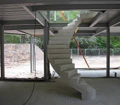 Free Standing Stairs Design Helical Concrete Stairs Concrete Helical Stairs