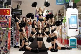 victoria secret on black friday anorak black friday the asda cheerleaders fight to the death