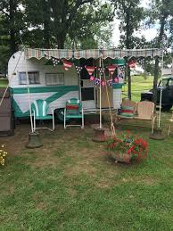 Vintage Trailer Awning Vintage Camper Awning By Sew Country Awnings By Sewcountryawnings