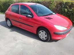 peugeot red 1999 peugeot 206 lx 1 4 5 door red in milford surrey gumtree