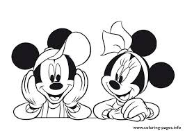 mickey minnie pose disney 7eb1 coloring pages printable