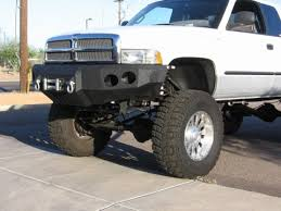 custom front bumpers for dodge trucks bull 94 02 dodge 2500 3500 front winch bumper
