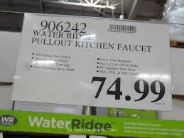 water ridge pull out kitchen faucet kitchen faucet in costco lovely water ridge pull out kitchen