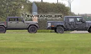 jeep truck spy photos 2019 jeep wrangler pickup 2018 jeep wrangler jl forums new