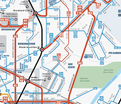 map of pairs frequent network maps the challenge of one way pairs human transit