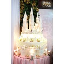 wedding cake bandung shine cake on the second day castle inspired