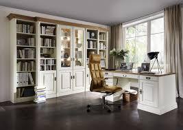 Schreibtisch M Elhaus Bibliothek La Natura 1304 In Polarkiefer Champagner Lackiert
