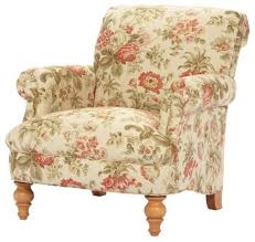 floral print chairs accent arm sale giraffe chair for printed