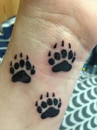 bear paw tattoo pictures to pin on pinterest tattooskid