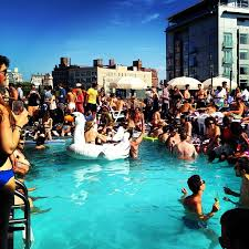 house pool party from the girl who didn t skip the party stage soho house and city