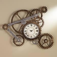 Wall Clock Gear Wall Clock