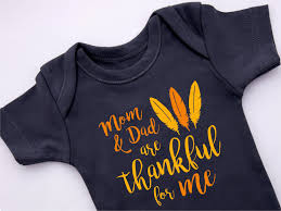 thanksgiving infant headbands thanksgiving baby boy mom and dad are thankful for me