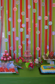 Peppa Pig Birthday Decorations Peppa Pig Birthday Party Dessert Table Cotton Candy Cupcakes