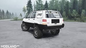 mud jeep cherokee jeep grand cherokee zj spintires mudrunner