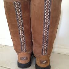 ugg s kintla boot 50 ugg boots chestnut braid ugg boots from