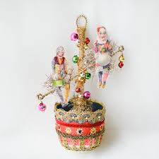 victorian christmas ornament clown ornaments circus