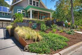 Landscape Mounds Front Yard - how to terrace a front yard hgtv