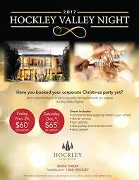 hockley valley night hockley valley resort