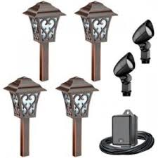 Landscape Lighting Kits Low Voltage Low Voltage Pathway Lights 1 Grounbreaking Malibu Lighting 06