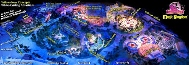 Map Of Walt Disney World by 3d Map Of The New Disney U0027s Fantasyland Plans Orlando Inside