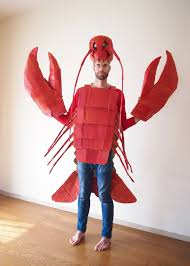 lobster halloween costumes halloween the cardboard collective
