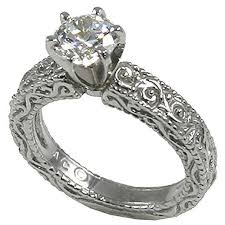 carved engagement rings 12 best vintage carved engagement rings 14k gold images on