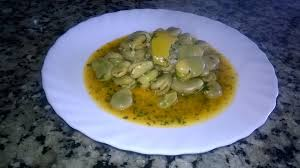 cuisiner des feves salade marocaine chaude fèves à l huile d olive