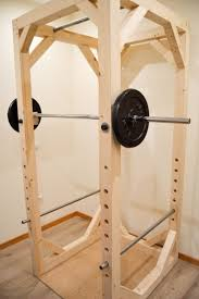 Diy Wood Squat Rack Plans by Best 25 Homemade Workout Equipment Ideas On Pinterest Homemade