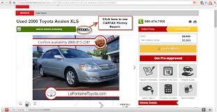 carfax advantage dealership lafontaine toyota