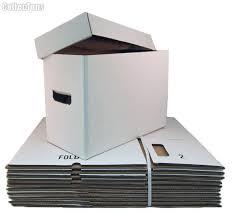 comic book storage boxes cardboard bundle of 10 by bcw comic