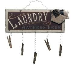 ohio wholesale clothespin laundry sign wall from