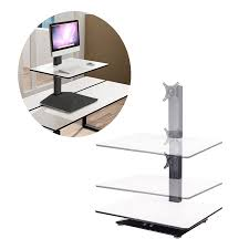 co z standing desk electric adjustable height desk converter