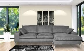 canapé d angle contemporain design canapé d angle à droite retro gris
