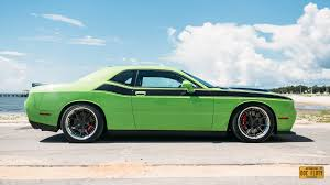 Dodge Challenger With Rims - 10 5 in rims on lowered pack dodge challenger forum