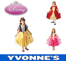 disney princess platinum girls fancy dress costume kids snow white