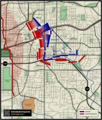 Map Of Atlanta Casualties Of The Battle Of Atlanta American Civil War Forums
