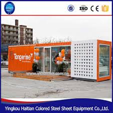 container restaurant designer fast food kiosk prices prefabricated