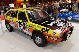 renault rally 2016 file rétromobile 2016 renault 20 turbo 4x4 paris dakar 1982