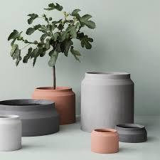 large concrete pot zola
