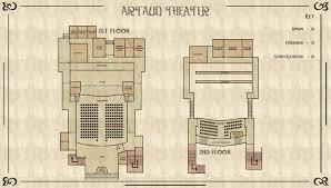 Movie Theater Floor Plan Artaud Theater Silent Hill Wiki Fandom Powered By Wikia