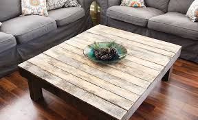 reclaimed wood square coffee table best large square coffee tables yonder years rustic reclaimed wood